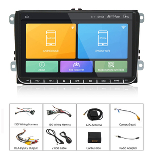 Image 5 - Podofo 2 + 32Gb/1 + 16Gb Auto Radio Stereo 9 Multimedia Speler Autoradio Spiegel Link voor Vw Passat Golf MK5 MK6 Jetta Touran Seat
