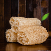 15-20cm Natural Anti-oil Kitchen Loofah Sponge Scrubber Dish Bowl Cleaning Brush NEW