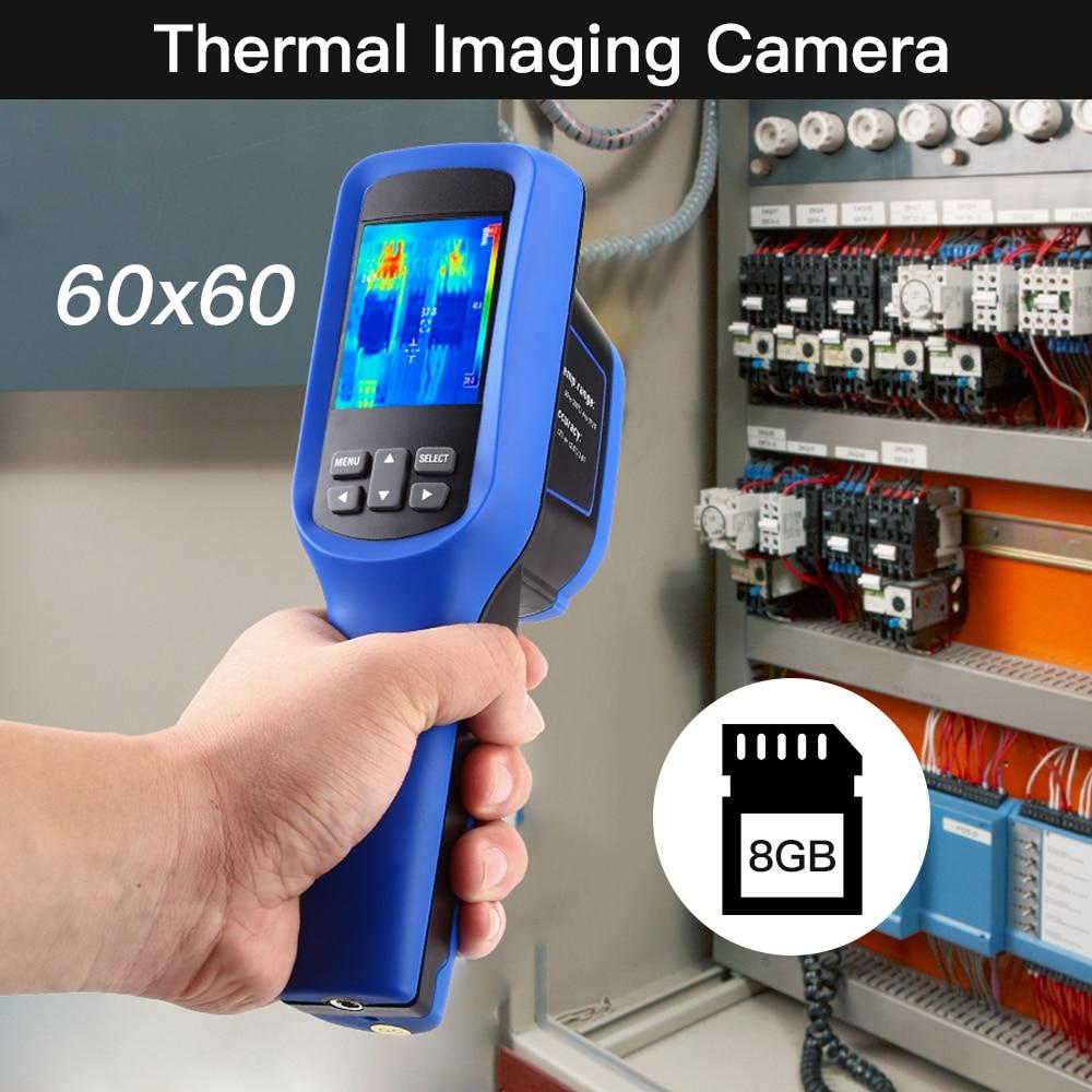 SeeSii 60x60 Handheld Infrared Thermal Imager thermal imagen  cameraTemperature  4℉~572℉ thermal Infrared Imager camara 8GB  CardTemperature Instruments