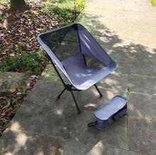 Сверхлегкий складной стул для отдыха на открытом воздухе портативный