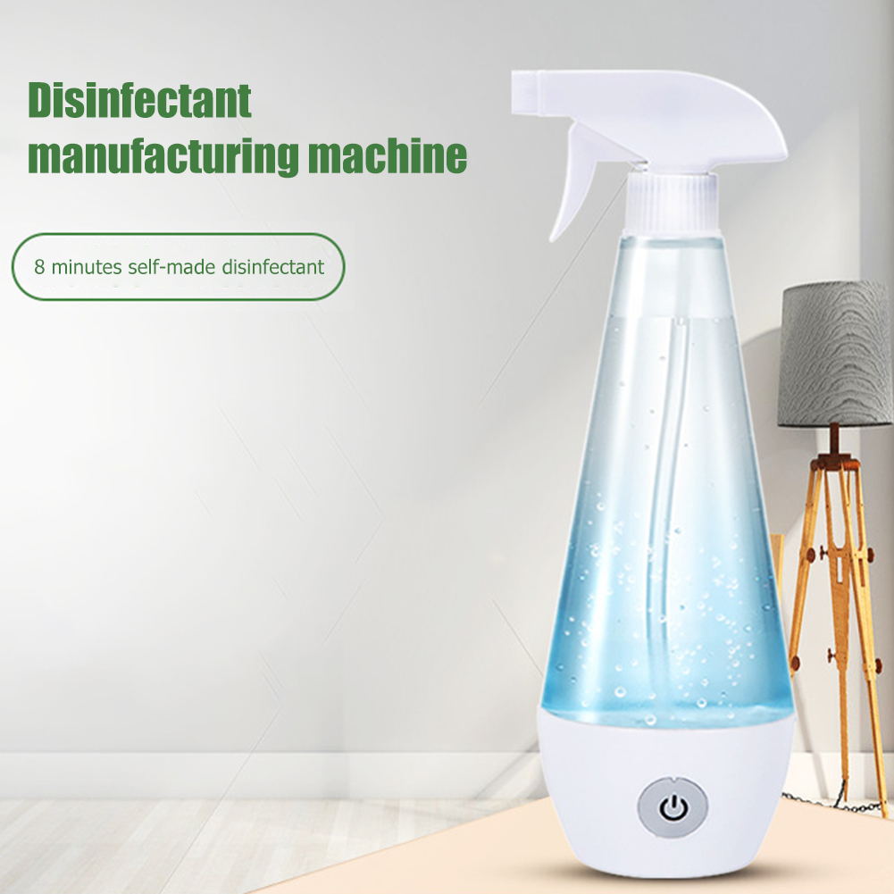 300ml Portable Hypochlorous Acid Water Generator Household Rechargeable Cleaning Disinfection Liquid Disinfectant Machine