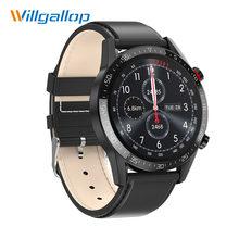 Willgallop L13 Ecg + Ppg IP68 Bluetooth Smartwatch Pression Artérielle Fréquence Cardiaque Fitness Tracker Hommes Smartwatch