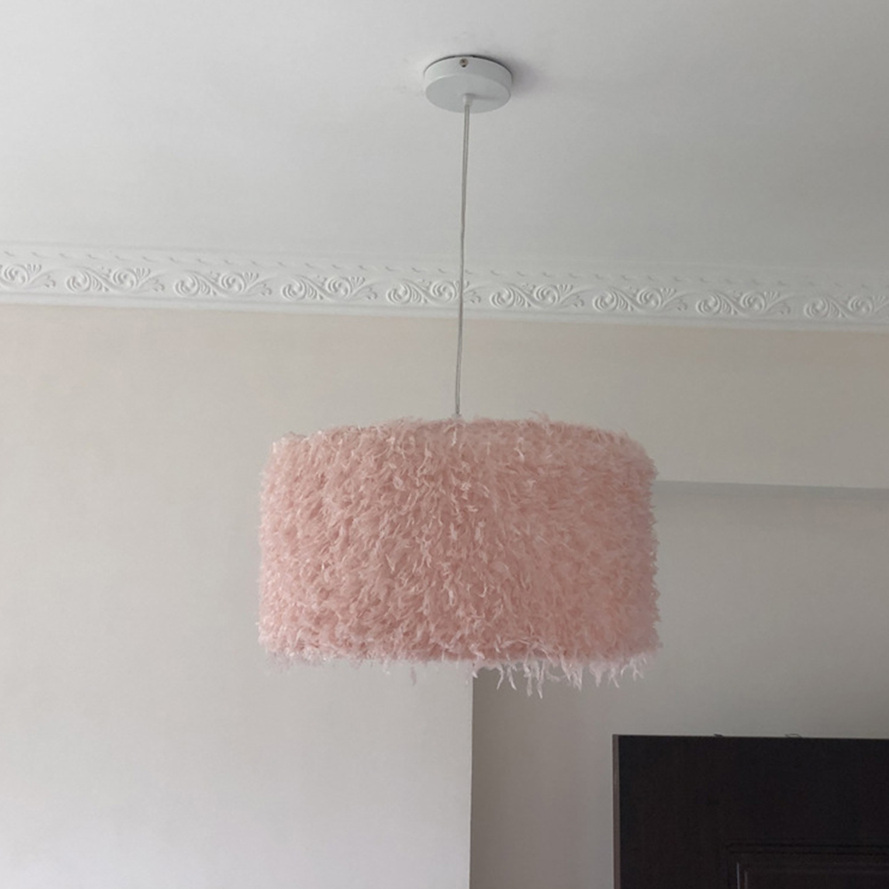 Image 2 - Durable Feather Ceiling Light Modern Hanging Lamp for Bedroom/Living Room/Bathroom Chandelier 4 Types Style Ceiling LampPendant Lights   -