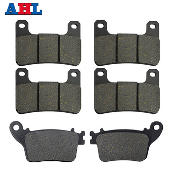 Motorcycle Front Rear Brake Pads Kit For SUZUKI GSXR1000 2009 - 2014 For KAWASAKI ZX1000 Ninja ZX-10R ABS 2011 2012 2013 2014 image