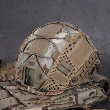 Чехол на шлем для страйкбола, охоты (тактический военный боевой), CS Wargame, спортивный шлем, чехол для Ops-Core PJ/BJ/MH типа, Быстрый Шлем