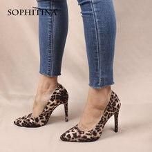 Sophitina/женские туфли лодочки; Модные пикантные женские лодочки