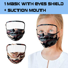 Breathable Mask Masque Halloween Cosplay Eye-Sheld Adult for Face-Protective-Face-Mask