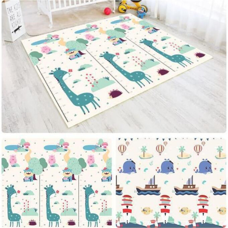 H1a353e85a6194bca9dfcacee1f7a88d79 Kids Rug Puzzle Baby Crawling Play Mat Developing Mat Toys For Children's Mat Waterproof EPE Giraffe Eco-friendly Carpet Playmat