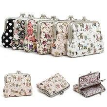 Холщовый милый маленький кошелек, кошелек для монет, топ, персонаж, для девочек, сменный карман, сумка для ключей на застежке, с металлической застежкой, лидер продаж, для женщин