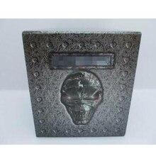 Nieuwe Verzegelde Iron & 15d Maiden Featured Box Set Hoorn Bloem Audio Cd Muziekspeler Metalen Stansmessen Plakboek Dariy decoratie