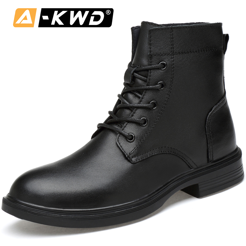 Luxury Men Shoes Zapatos Seguridad Hombre Black Genuine