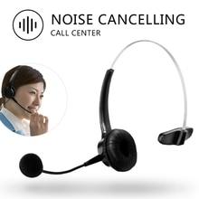 RJ11 โทรศัพท์ชุดหูฟังไมโครโฟนปรับหูฟังหูฟังพร้อมไมโครโฟนสำหรับสำนักงาน Call Center