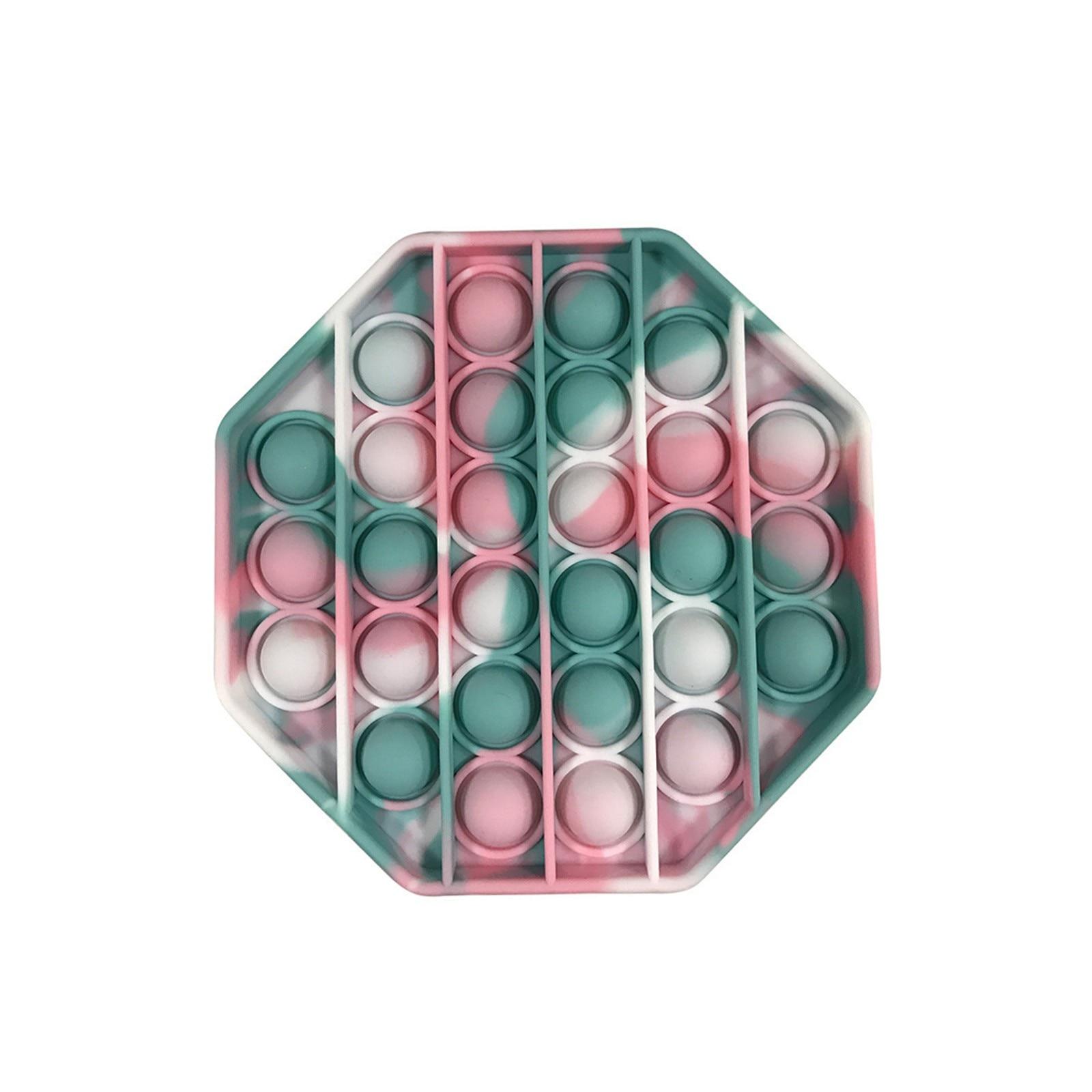 PopIt Hot Push Bubble Fidget Toys Adult Stress Relief Toy Antistress PopIt Soft Squishy Anti-Stress Gift Anti Stress Box ??? ??* img2