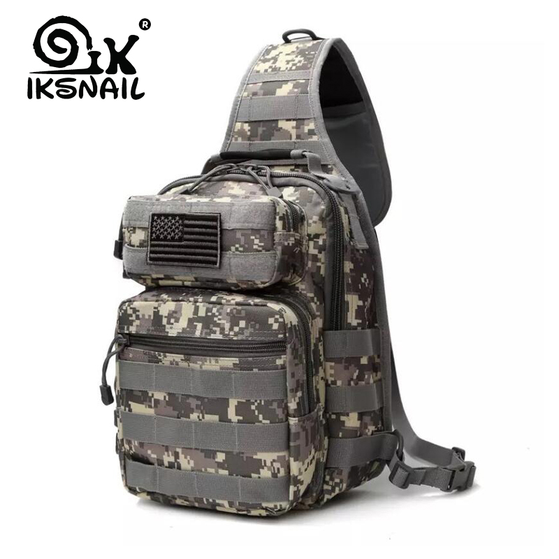 IKSNAIL 2019 Outdoor Hotsale Military Tactical Backpack Shoulder Camping Hiking Camouflage Gym Sport Bag Hunting Backpack Bags Climbing Bags Sports & Entertainment - title=