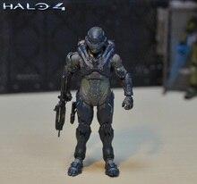 6 pollici 15cm dimensioni Halo Sparta Master John scala 1/6 action figure doll hard PVC cortura capo er model collection toy