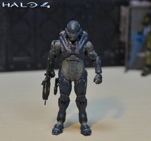 Image 1 - 6inch 15cm size Halo Sparta Master John 1/6 scale action figure doll hard PVC Cortana Chief er model collection toy