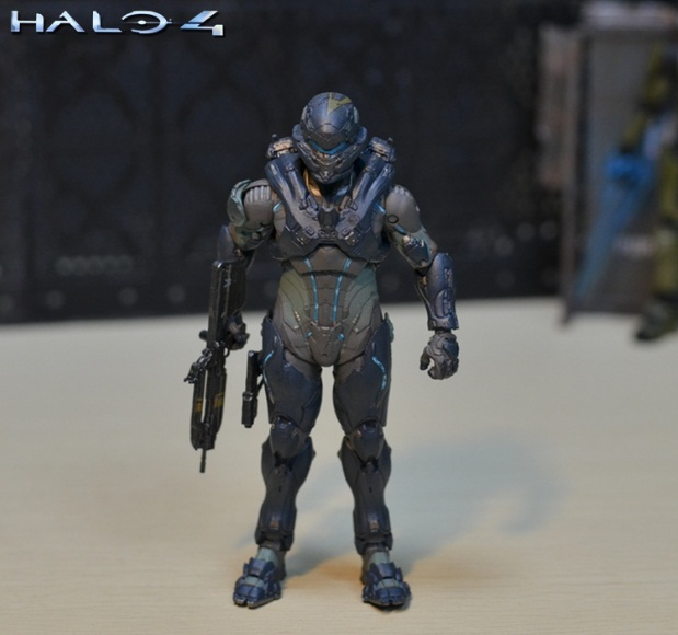 6inch 15cm size Halo Sparta Master John 1/6 scale action figure doll hard PVC Cortana Chief er model collection toy