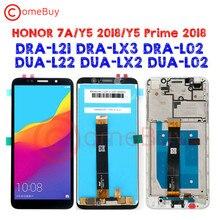 5.45นิ้วสำหรับHuawei Y5 Prime 2018จอแสดงผลLCD Honor 7S DUA L02 L22 LX2 Touch Screen Honor 7AจอแสดงผลY5 2018 DRA L21 LX3