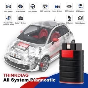 Image 3 - 2021 OBD2 أداة تشخيص ThinkDiag جميع ماركات السيارات 1 سنة مجانية اختبار نشط ECU رمز PK التمهيد القديم دياجزون easydiag غولو