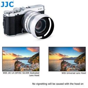 Image 5 - כידון מתכת עדשת הוד עבור Fujinon XC35mmF2 & XF35mmF2 XF23mmF2 R WR עדשה על X T20 X T10 X Pro2 X Pro1 X T2 להחליף LH XF35 2