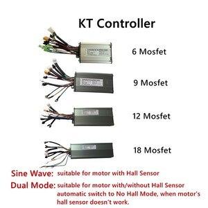 Image 2 - Controlador de bicicleta eléctrica con Bluetooth KT, controlador de onda sinusoidal/modo Dual para Motor de bicicleta eléctrica sin escobillas de 36V/48V 250W 2000W
