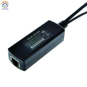 Image 2 - 802.3af Gigabit PoE Bộ Chia Cổng 12 V Đầu Ra. Nguồn Qua Cho Không PoE Thiết Bị Như IP Để 328Ft Cho PoE