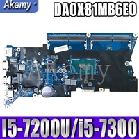 DA0X81MB6E0 X81 For HP ProBook 430 G4 440 G4 laptop motherboard 905794-001 905794-501 905794-601 905796-001 I5-7200U/i5-7300U