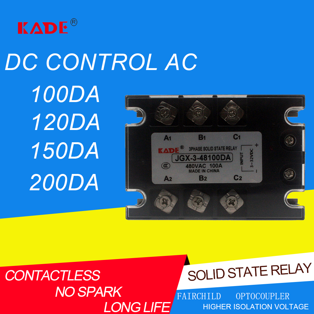 ASH-3 AA4825 three-phase AC solid state relay TSR-25AA 480V