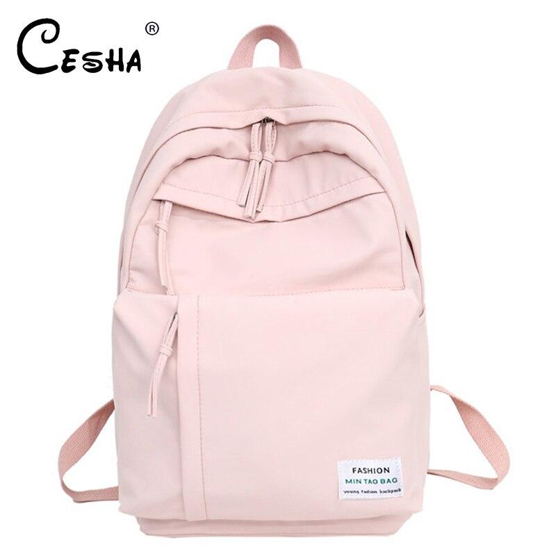 CESHA Pretty Style Girls School Backpack Big Capacity Waterproof Nylon Schoolbag Backpack Fashion Girls School Bag For Teenager