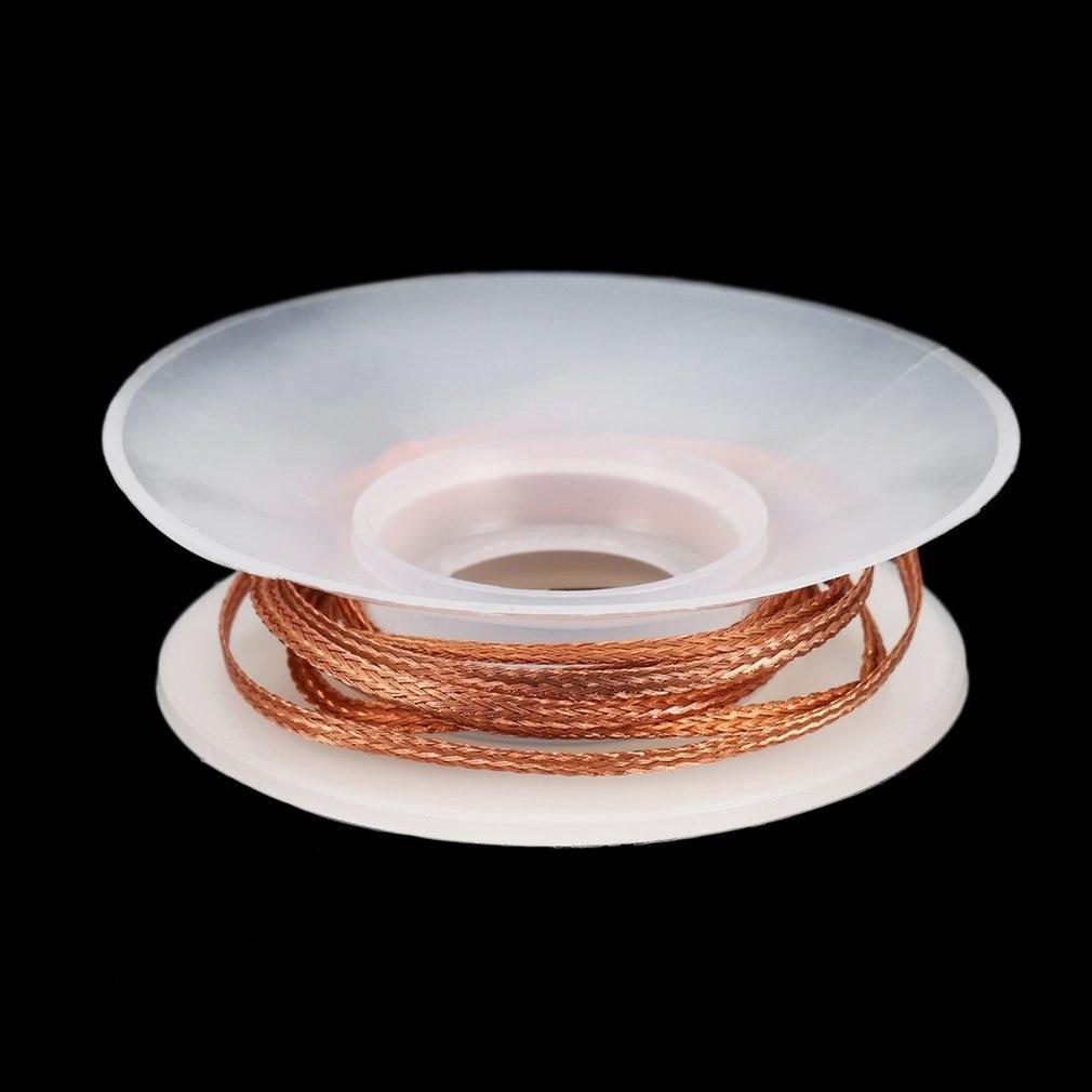1.5mm 2mm 2.5mm 3mm 3.5mm Width 1.5M Length Desoldering Braid Welding Solder Remover Wick Wire Lead Cord Flux BGA Repair Tool