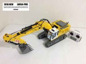 Image 1 - Upgraded Version RTR Full metal 1/12 RC excavator/RC hydraulic excavator model