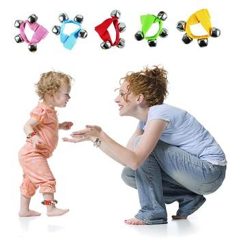 Boże narodzenie dzwonki ręczne dzwonki dekoracje dzwonki wczesne dzieciństwo edukacja dzwony zabawki dla dzieci dla 0-12 miesięcy dzieci детские игрушки tanie i dobre opinie ISHOWTIENDA Tkaniny CN (pochodzenie) Unisex Rattles 13-24 miesięcy cartoon NONE Oddziela Musical As Shown Baby Rattles Mobiles