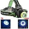 XM-L T6  amp  COB Led Headlamp Zoom Headlight 18650 Battery USB Rechargeable for Fishing Head Flashlight Lamp Torch Waterproof Light promo
