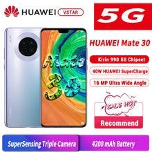 6.62 pouces Original HUAWEI Mate 30 5G Version téléphone Mobile Kirin 990 5G Android 10.0 capteur de geste à lécran
