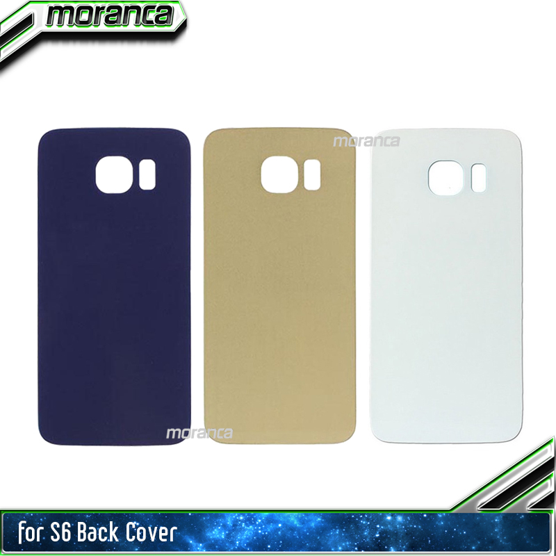 for Samsung Galaxy s6 G920 G920F S6 Edge G9250 SM-G925 Back Housing Battery Glass Cover Rear Door Case Shipping with Tracking image