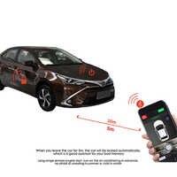 3-5M Keyless Entry Auto Alarmanlage Mit Fernbedienung Starten Und Mobile App Bluetooth Zentralverriegelung APP PKE stop