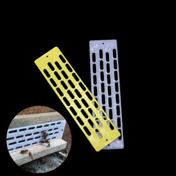20 sztuk Anti Escape pszczoły królowa plastikowa przekładka rama ula Blocker bariera arkusz gniazdo drzwi Apiculture Tool Equipment tanie i dobre opinie pledge agro XQ-025 plastic anti escape sheet