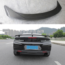Car-styling Carbon fiber Rear Trunk Spoiler Wing Fit For Chevrolet Camaro 2016 - 2018