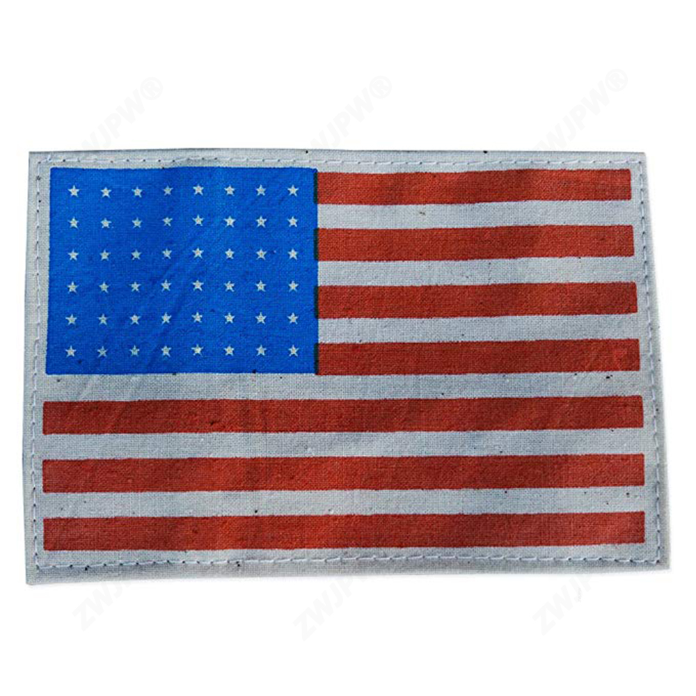 WW2 US ARMY AIRBORNE/PARATROOPER 48 STAR AMERICAN FLAG ARM BAND