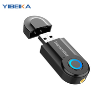 Nadajnik Bluetooth odbiornik Audio 5.0 bezprzewodowy Adapter Audio 3.5mm nadajnik kompatybilny z TV komputer dźwięku słuchawek