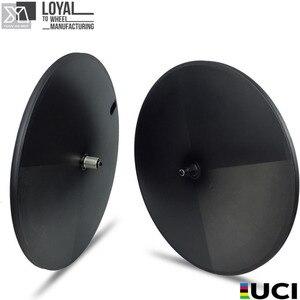 Image 1 - Elite Carbon Disc Wheels Japan Toray Carbon Fiber T700 Tubular Or Clincher Racing Wheelset  Basalt Surface Powerway Hub