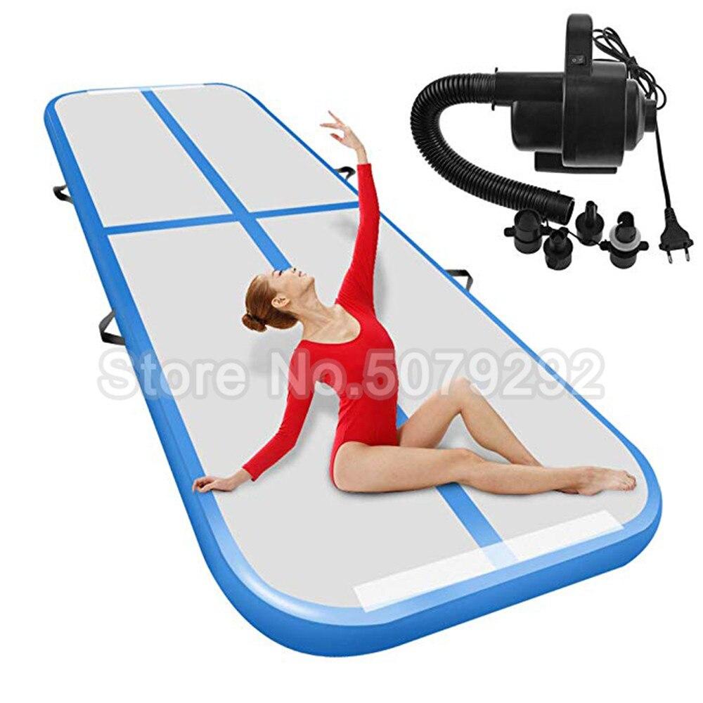 Promotion! Livraison gratuite Airtrack gonflable avec pompe Mini taille 1-3m Air piste tapis pour Gym usage domestique gonflable plancher d'air