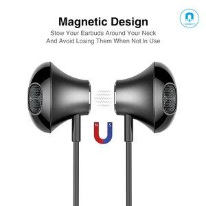Image 4 - سماعة رأس لاسلكية Picun H12 مزودة بتقنية البلوتوث سماعة رأس مغناطيسية مزودة بشريط حول الرقبة سماعات رياضية 20 ساعة لتشغيل أجهزة iPhone شاومي