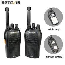Рация retevis rt46 pmr портативная двухсторонняя радиостанция