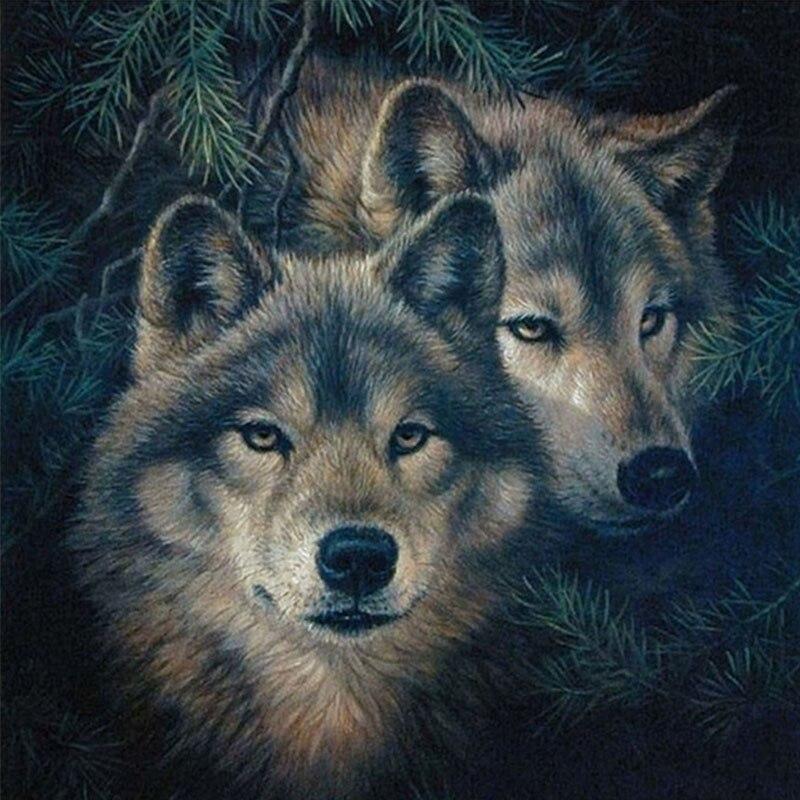 Картинки кресты красивые с волками