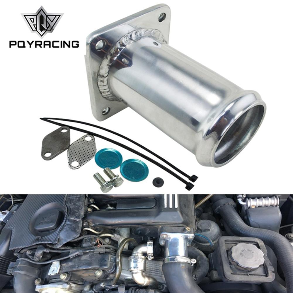 PQY-Alluminio EGR Corredo di Rimozione/EGR Elimina Kit Tranciatura Bypass Per BMW E46 318d 320d 330d 330xd 320cd 318td 320td PQY-EGR07
