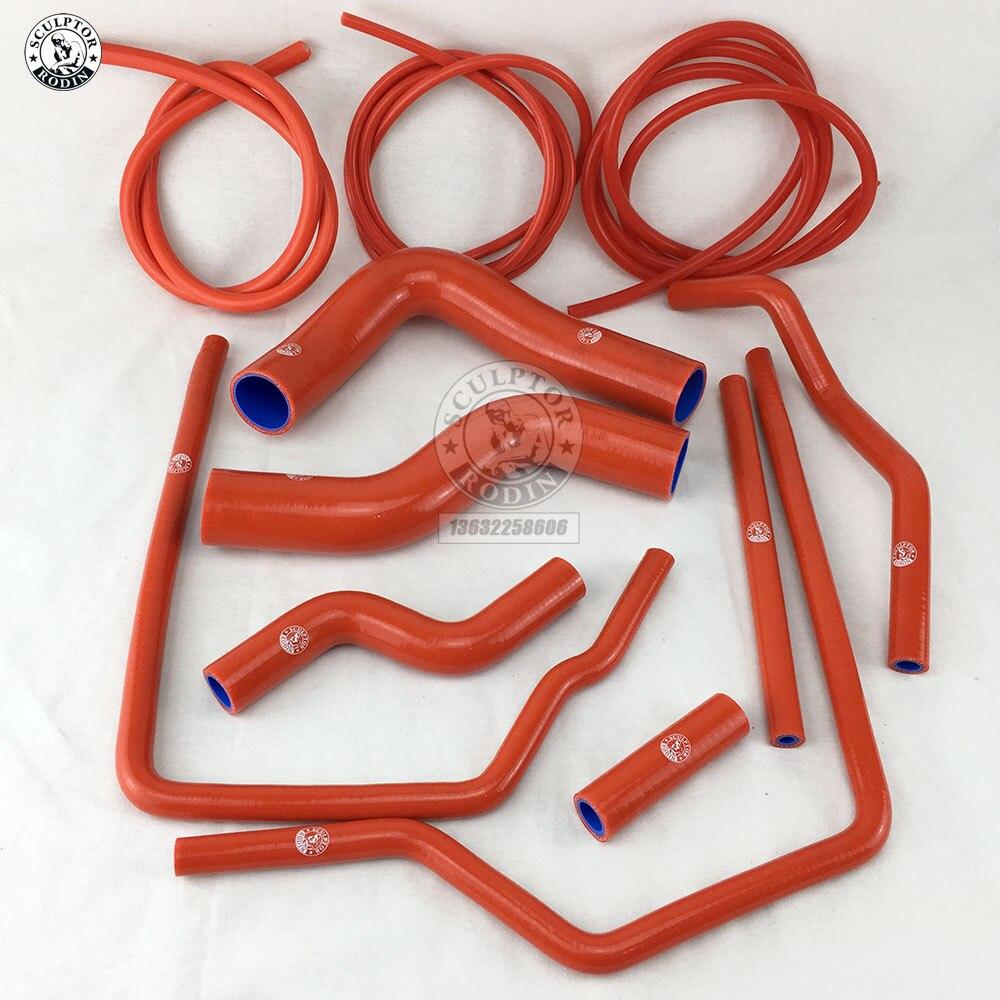 Набор силиконовых шлангов для SUBARU IMPREZA GC8 GF8 STI EJ20 WRX 96-00 TURBO + комплект вакуумных шлангов красный/синий/черный