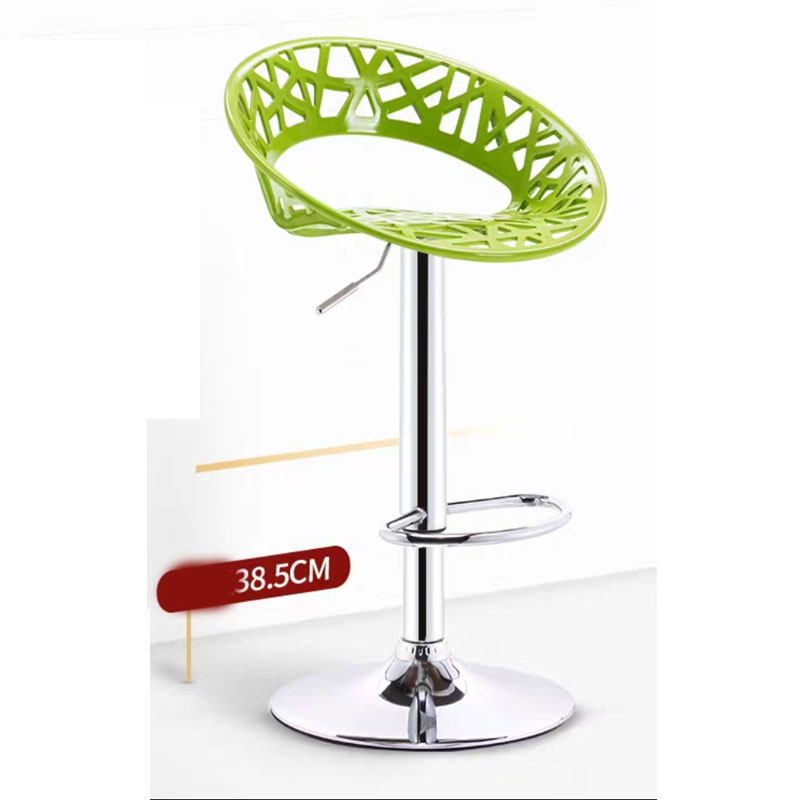 Modern Bar Chair Can Lift Rotate Simple Creative Fashion Bar Home Coffee Shop Leisure Raise Backrest High Chair