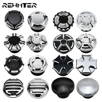 Motorcycle Black Chrome Fuel Gas Oil Cap Fuel Gas Tank Cover For Harley Sportster 883 1200 XL XR Iron Dyna Touring Softail pop up fuel tank screw motorcycle for harley sportster 883 1200 xl883 1200 48 72softail dyna touring 1996 2016 gas cap oil cover