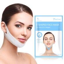 5PCS פנים הרמת מסכות סנטר הלחי הרמת יופי V מעצב פנים מסכת פנים קווי המתאר הרזיה פנים להרים כלים טיפוח עור